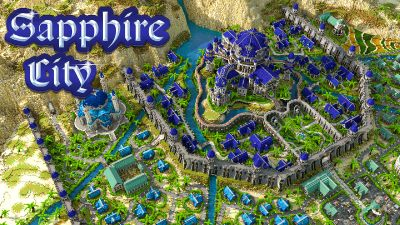 Sapphire City on the Minecraft Marketplace by Impulse