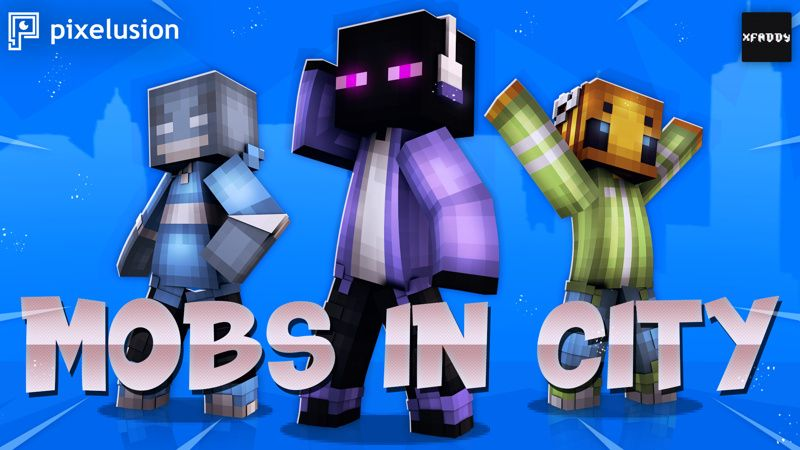 Mobs In City on the Minecraft Marketplace by Pixelusion