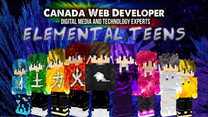 ELEMENTAL TEENS on the Minecraft Marketplace by CanadaWebDeveloper