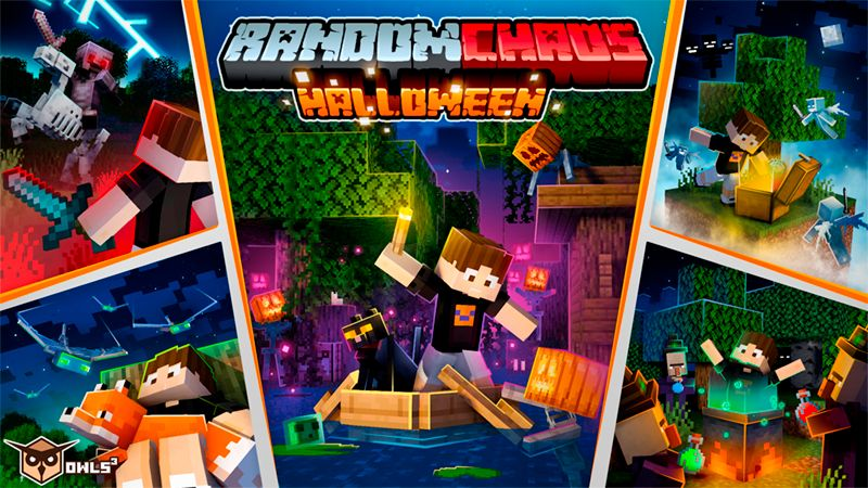 Random Chaos Halloween on the Minecraft Marketplace by Owls Cubed