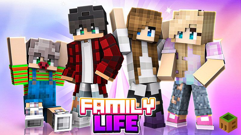 Family Life on the Minecraft Marketplace by MobBlocks