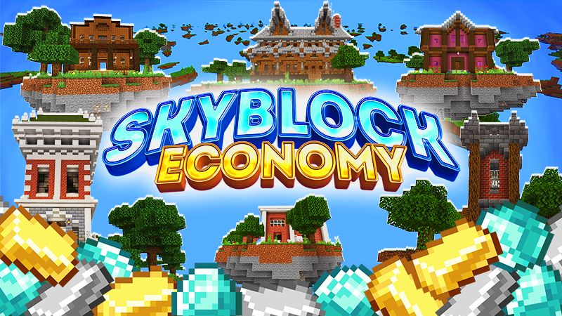Skyblock Economy on the Minecraft Marketplace by Dig Down Studios