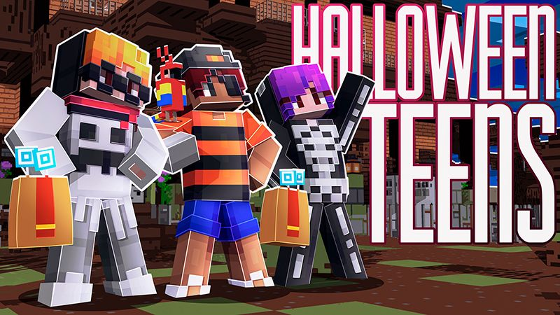 Halloween Teens on the Minecraft Marketplace by Dig Down Studios