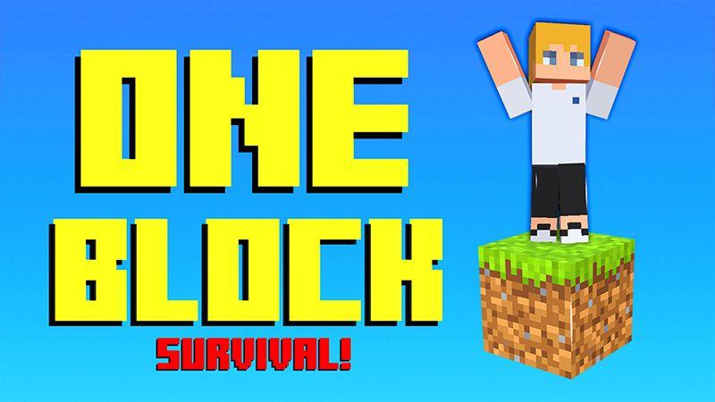 ONE BLOCK SURVIVAL!
