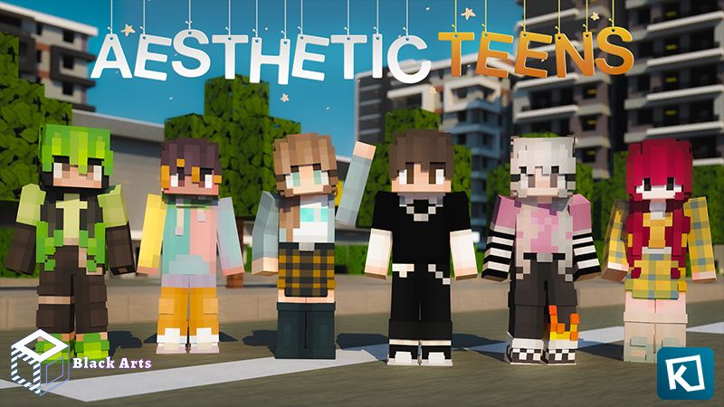 Aesthetic Teens on the Minecraft Marketplace by Black Arts Studios