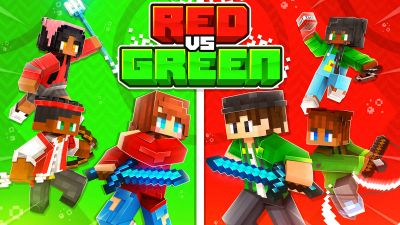 Red Vs Green on the Minecraft Marketplace by BLOCKLAB Studios