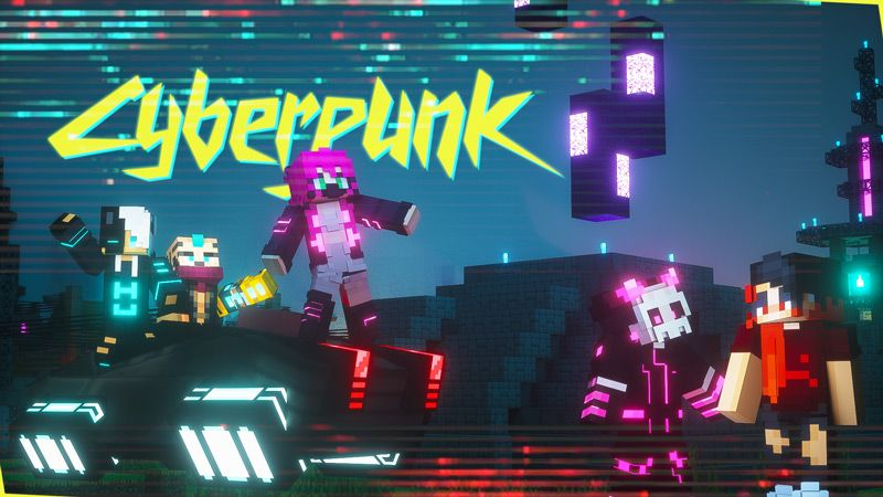 Cyberpunk on the Minecraft Marketplace by Owls Cubed
