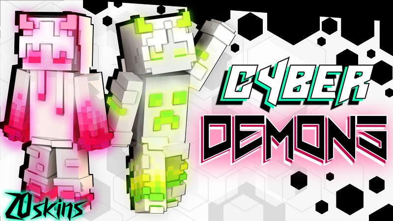 Cyber Demons on the Minecraft Marketplace by Ninja Squirrel Gaming