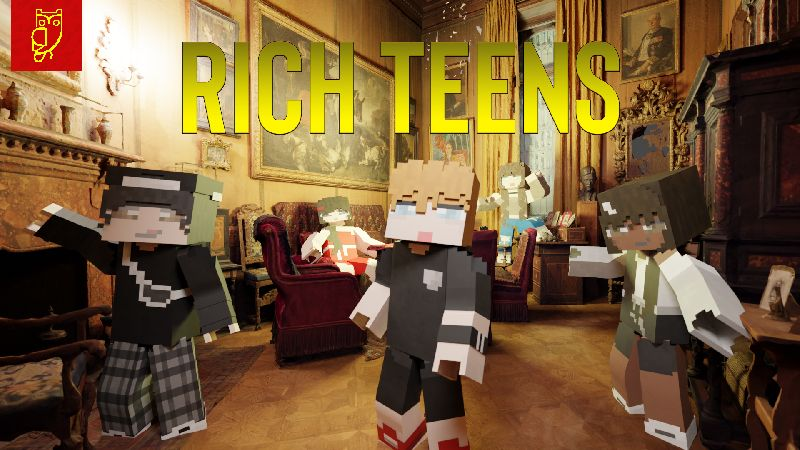 Rich Teens on the Minecraft Marketplace by Netherpixel