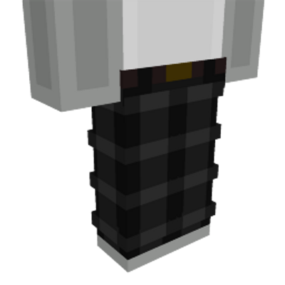 Black Plaid Pants on the Minecraft Marketplace by Dig Down Studios