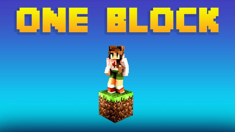 SKYBLOCK ONE BLOCK on the Minecraft Marketplace by 4KS Studios