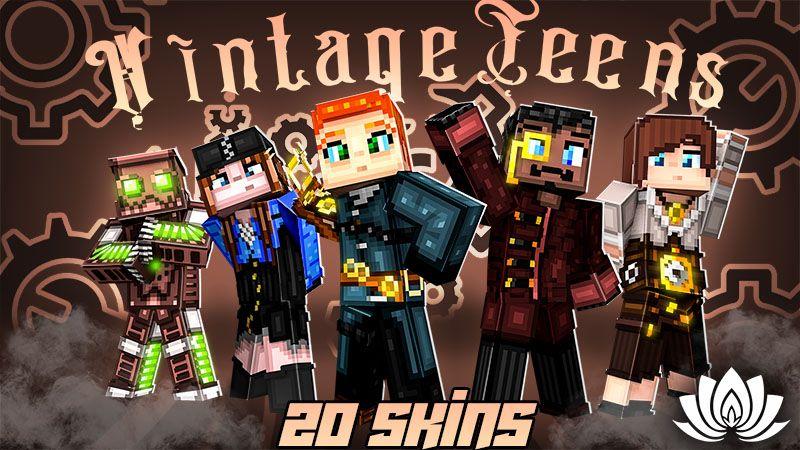 Vintage Teens on the Minecraft Marketplace by IriumBT