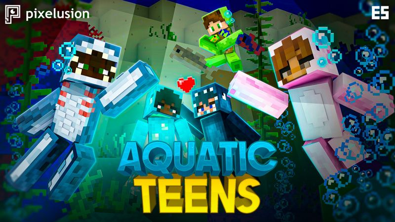Aquatic Teens on the Minecraft Marketplace by Pixelusion