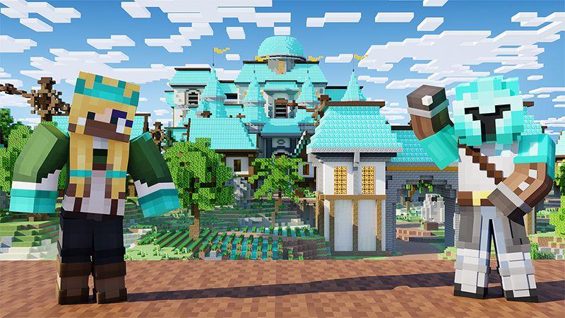 Diamond Village on the Minecraft Marketplace by Odyssey Builds