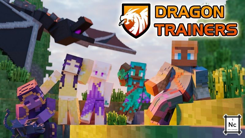 Dragon Trainers on the Minecraft Marketplace by Nitric Concepts
