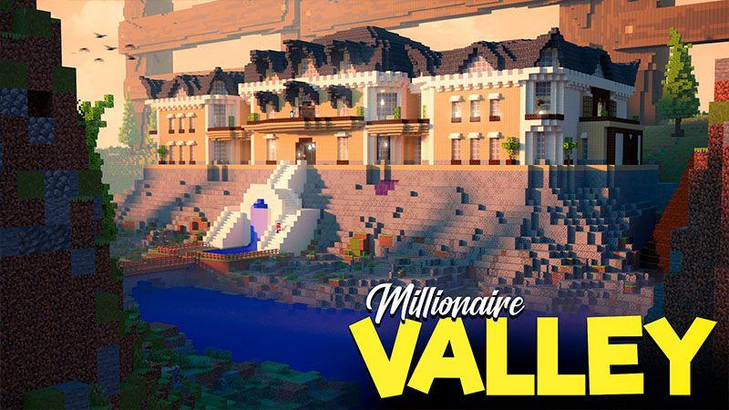Millionaire Valley on the Minecraft Marketplace by 4KS Studios
