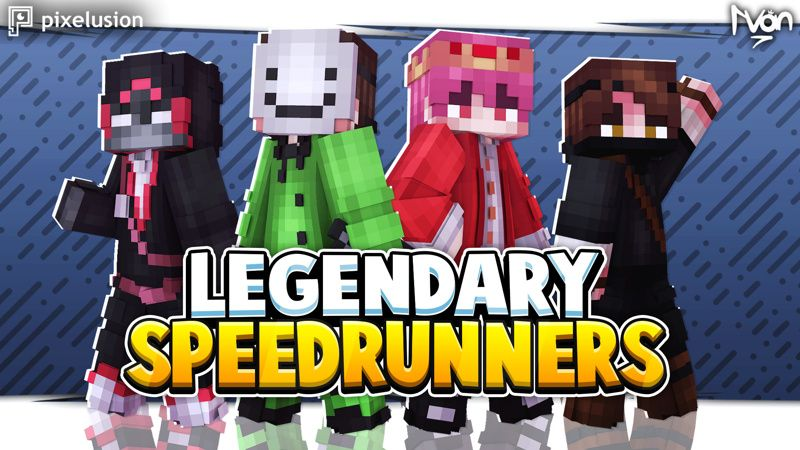 Legendary SpeedRunners on the Minecraft Marketplace by Pixelusion