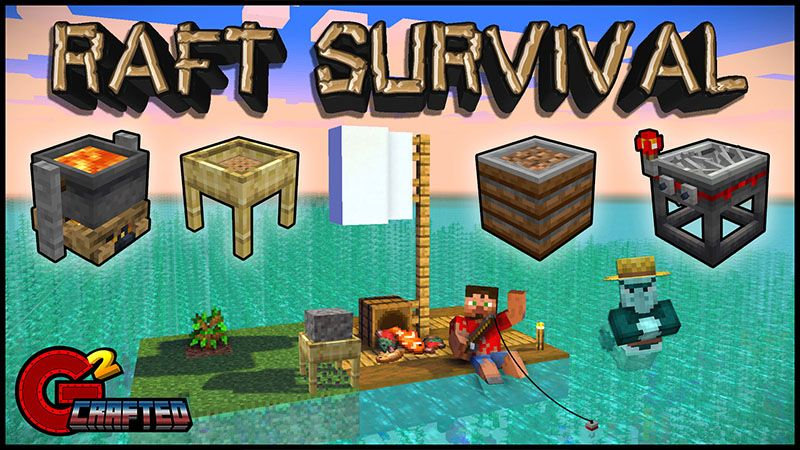 Raft Survival on the Minecraft Marketplace by G2Crafted
