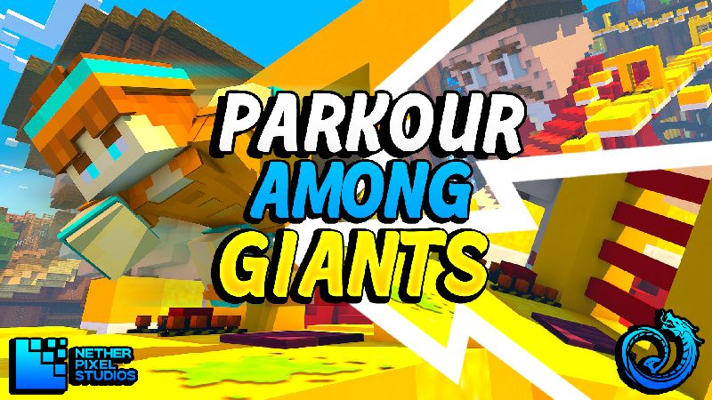 Parkour Among Giants on the Minecraft Marketplace by Netherpixel