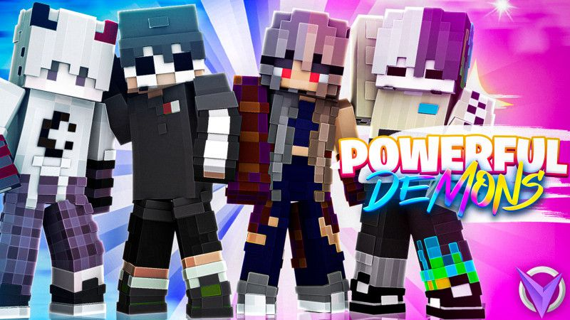 Powerful Demons on the Minecraft Marketplace by Team Visionary