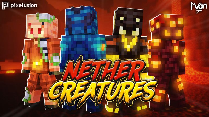 Nether Creatures on the Minecraft Marketplace by Pixelusion