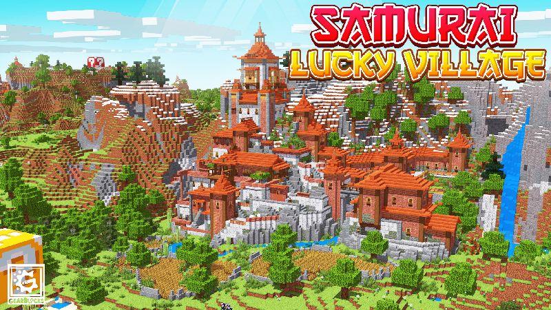 Samurai Lucky Village on the Minecraft Marketplace by Gearblocks
