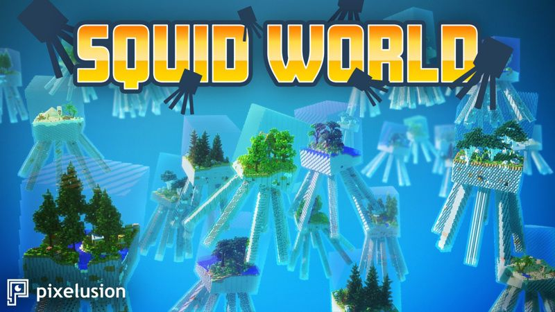 Squid World on the Minecraft Marketplace by Pixelusion