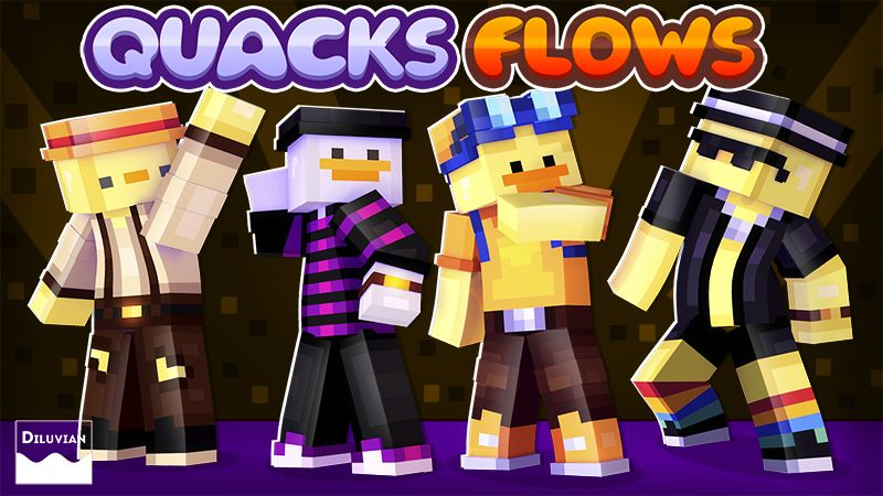 Quacks Flows on the Minecraft Marketplace by Diluvian