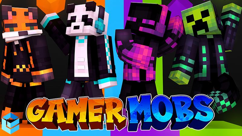 Gamer Mobs on the Minecraft Marketplace by Entity Builds