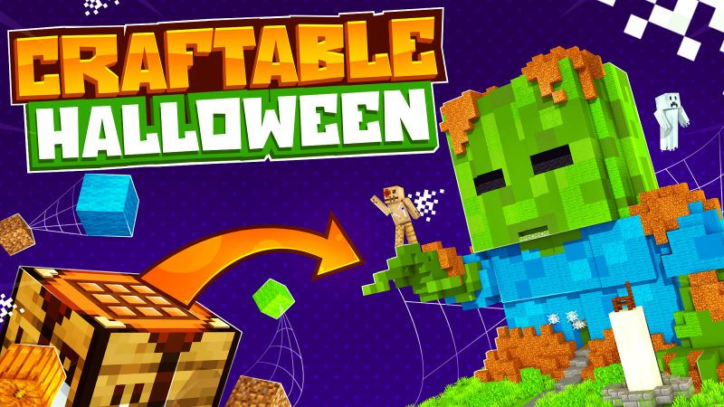 Craftable Halloween on the Minecraft Marketplace by 57Digital