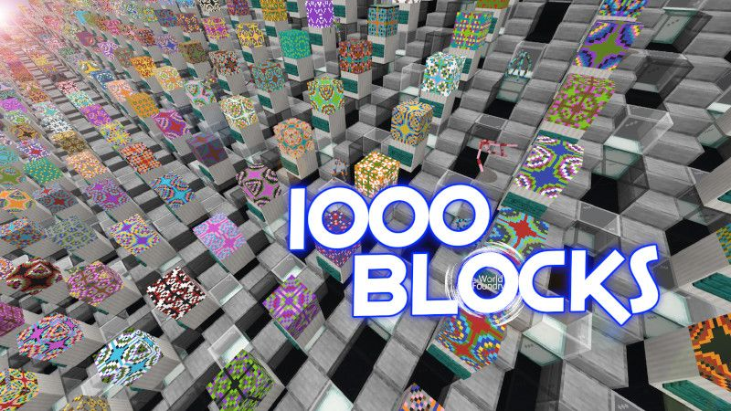 1000 Blocks on the Minecraft Marketplace by The World Foundry