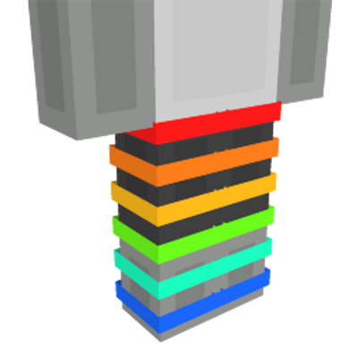 Rainbow Legs on the Minecraft Marketplace by Mob Pie