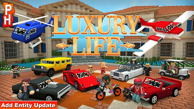 Luxury Life on the Minecraft Marketplace by PixelHeads