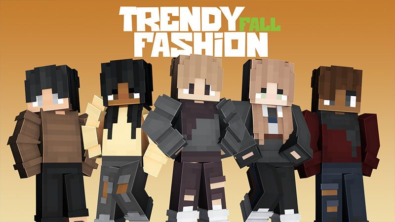 Trendy Fall Fashion on the Minecraft Marketplace by Odyssey Builds