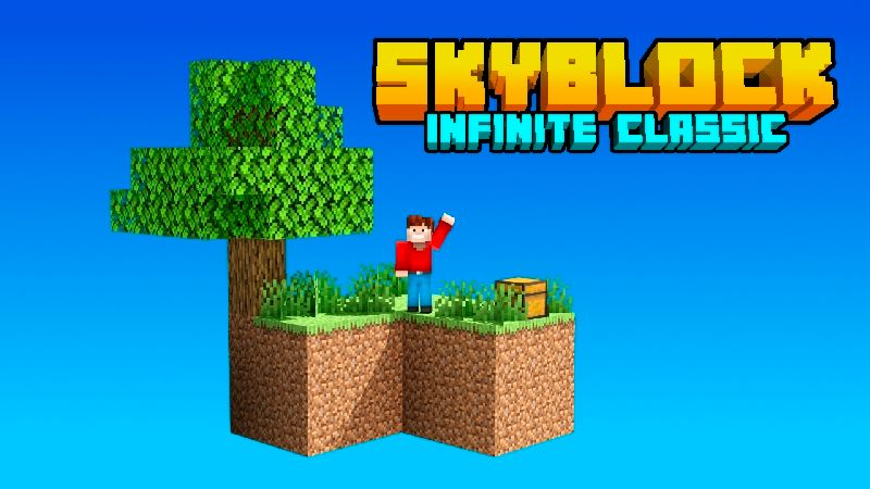 Skyblock Infinite Classic on the Minecraft Marketplace by VoxelBlocks