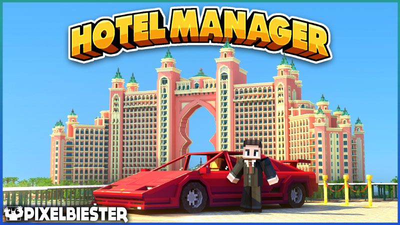 Hotel Manager on the Minecraft Marketplace by Pixelbiester