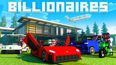 Billionaires on the Minecraft Marketplace by BLOCKLAB Studios