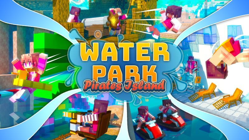 Water Park Pirates Island on the Minecraft Marketplace by Cubed Creations