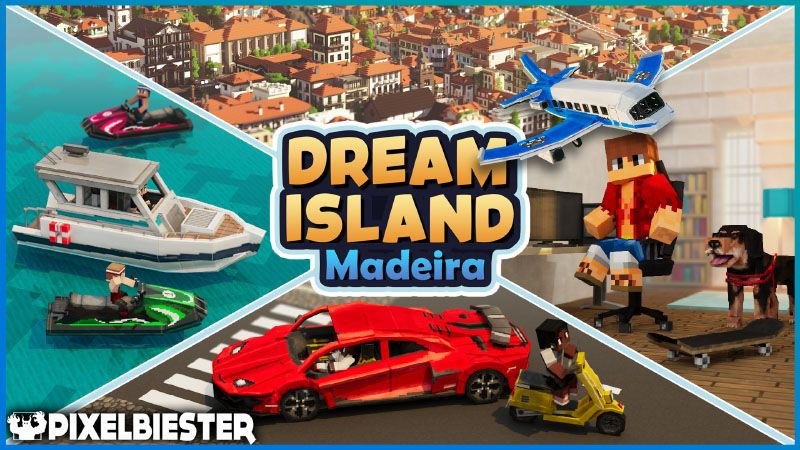 Dream Island  Madeira on the Minecraft Marketplace by Pixelbiester