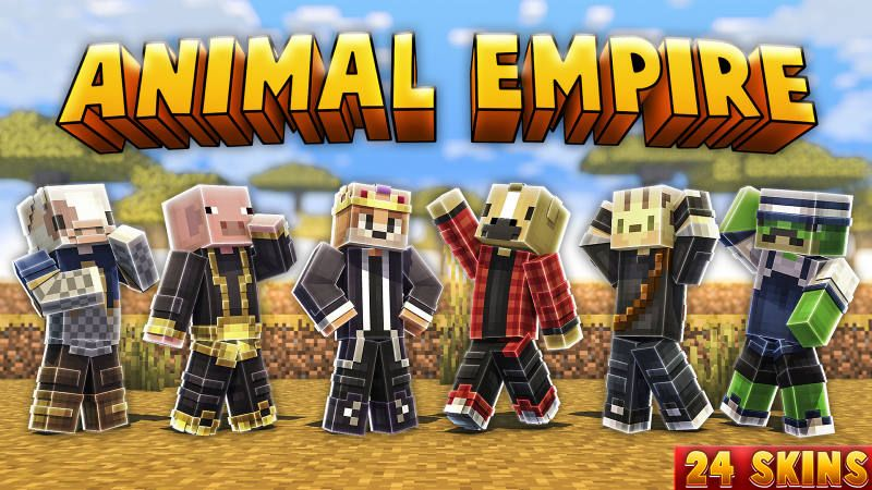 Animal Empire on the Minecraft Marketplace by BLOCKLAB Studios