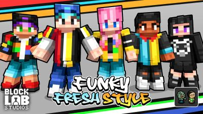 Funky Fresh Style on the Minecraft Marketplace by BLOCKLAB Studios