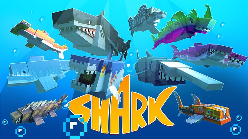 Sharks on the Minecraft Marketplace by Mine-North