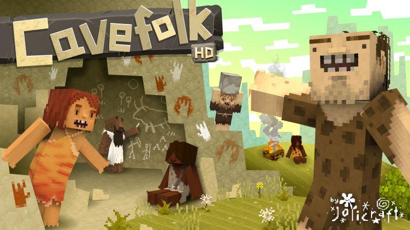 Jolicrafts Cavefolk HD on the Minecraft Marketplace by Jolicraft