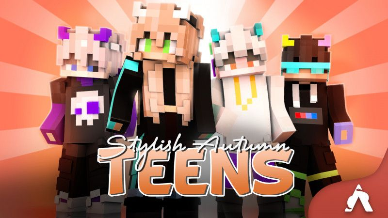 Stylish Autumn Teens on the Minecraft Marketplace by Atheris Games