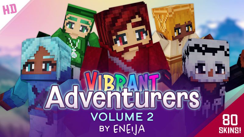 Vibrant Adventurers Volume 2 on the Minecraft Marketplace by Eneija