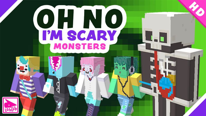 Oh No Im Scary MONSTERS on the Minecraft Marketplace by Lebleb