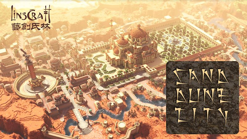 Sand Dune City on the Minecraft Marketplace by LinsCraft