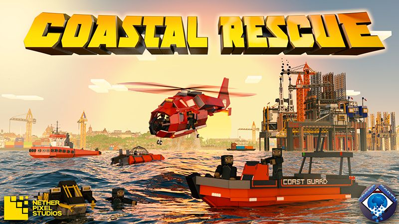 Coastal Rescue on the Minecraft Marketplace by Netherpixel