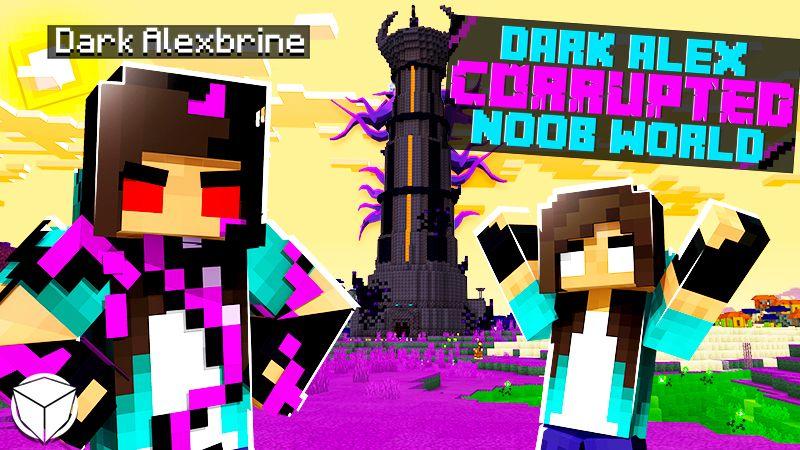 Dark Alex CORRUPTED Noob World on the Minecraft Marketplace by Logdotzip