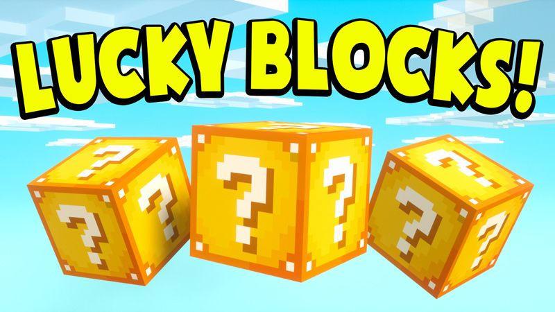 LUCKY BLOCKS on the Minecraft Marketplace by Chunklabs